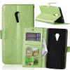 Зеленая классическая флип-обложка с функцией подставки и слотом для кредитных карт для Lenovo ZUK Z2 Pro мобильный телефон lenovo k920 vibe z2 pro 4g