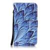 Blue Dazzle Дизайн PU кожа флип Обложка Кошелек для карты памяти чехол для LG K7/LG M1 карты памяти