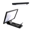 MyMei 3D Enlarge Screen HD Movie Video Phone Holder Stand Magnifier Folding Amplifier portable 8 2inch 3x phone screen magnifier enlarge stand hd plexiglass