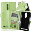 все цены на Зеленая классическая флип-обложка с функцией подставки и слотом для кредитных карт для Lenovo K5 Note