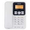 Philips (PHILIPS) CORD148 Caller ID телефон / домашний стационарный / офисный компьютер белый guangbo nc8105 домашний офисный стационарный телефон