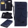 Классическая флип-обложка с тиснением Deep Blue Bear с функцией подставки и слотом для кредитных карт для Samsung Galaxy J2 Prime ��ылесос с контейнером samsung vcdc20dv blue