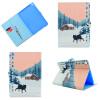 Снежный волк Стиль Классический откидная крышка с подставкой Функция и слот кредитной карты для Apple iPad 6/iPad Air 2