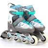 Lion P высокого (супер-к) код регулируемые коньки катаются роликовые коньки для взрослых мужчин и дети доступны роликовые коньки упражнения уровневого кода синих 30-33 SCB61403 роликовые коньки tempish mondial