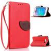 Красный Дизайн Кожа PU откидная крышка бумажника карты держатель чехол для Samsung Galaxy J1 красный дизайн кожа pu откидная крышка бумажника карты держатель чехол для samsung galaxy j7
