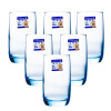 Jingdong [супермаркет] Le Meiya Luminarc стеклянная чашка чашка фруктового сока чашка виноградника залить 290 мл лед синий цвет 6 установлен hyundai современный вентилятор кондиционера установлен два специальных лед bl bj001