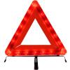 ANMA AM1103 Автомобиль Треугольник Предупреждающий вывесок Треугольник Автомобильный штатив Штатив Штатив для предупреждения безопасности со светодиодной подсветкой Красный