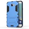 Синий Slim Robot Armor Kickstand Ударопрочный жесткий корпус из прочной резины для SAMSUNG Galaxy A8 2016/A810 gangxun blackview a8 max корпус высокого качества кожа pu флип чехол kickstand anti shock кошелек для blackview a8 max