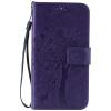 Purple Tree Design PU кожа флип крышку кошелек карты держатель чехол для LG K7
