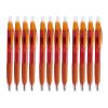 Музыка и многое другое Ohto CG-105L нажав Пуля гелевая ручка | ручки | 0.5mm | Красный | керамические бусины | 12 палочек музыка и многое другое ohto cb 10mj гранд серии ручки синий керамические бусины 0 5мм черный полный металл сделано в японии