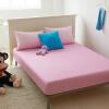 Ял свободного наматрасника предприятия кровати защитный чехол для увеличения хлопка саржевых предприятий двуспальный кровати розового скольжению 150 * 200см