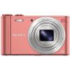 Sony (SONY) DSC-WX350 цифровой камеры розовый (18,2 млн эффективных пикселей 20х оптический зум 25мм широкоугольный Wi-Fi Дистанци фотоаппарат sony dsc rx10m2