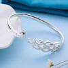 Семь градусов (SEVEN СТЕПЕНЬ) серебряный браслет женские модели красивый павлин прекрасный серебряный сертификат браслет серебряный браслет распределение открытие