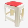 Джингдонг Кин супермаркет пластиковый стул стул дома гостиной стул большой пластиковый квадратный стул стул современный минималистский синий 0859