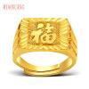 Чудесные выборы ювелирного богатых золотых фан позолоченных мужчины открытие кольца