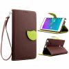 Коричневый Дизайн Кожа PU откидная крышка бумажника карты держатель чехол для Samsung Galaxy Note Edge/N9150 противоударное стекло для samsung galaxy note edge n9150 с олеофобным покрытием green cases 0 33 мм