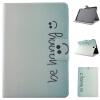 Butterfly Smile Style Classic Flip Cover с функцией подставки и слотом для кредитных карт для Samsung Galaxy Tab A 8.0 T350