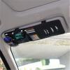 Китай украшения автомобиля солнцезащитный козырек клип CD устанавливает многофункциональные сумки для хранения клип CD диск CD диск пакет автомобиля CD папка сумка документ солнцезащитный козырек черный cd диск the piano guys uncharted 2 cd