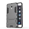 Серый Slim Robot Armor Kickstand Ударопрочный жесткий корпус из прочной резины для MEIZU M E смартфон bq mobile bq 5054 crystal черный