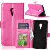Розовая красная классическая флип-обложка с функцией подставки и слотом для кредитных карт для Lenovo ZUK Z2 Pro мобильный телефон lenovo k920 vibe z2 pro 4g