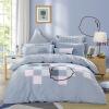 Mercury Home Textiles (MERCURY) Хлопок Twill Prints Четырехместное впечатление от Mocha Увеличение двуспальной кровати 1,8 м