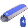 BeiJiLang хлопок спальный мешок открытый кемпинг взрослый спальный мешок свет чистый хлопок лунный спальный мешок 1.8kg синий 028
