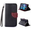 Черный Дизайн Кожа PU откидная крышка бумажника карты держатель чехол для Nokia Lumia 730 кожаная накладка pu для nokia lumia 510 черный