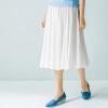 Yan Man (INMAN) 2017 новая половина юбка литая юбка юбка лето средний платье жемчуг белый L 1862111792