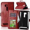 Браун Стиль Классический Флип Обложка с функцией подставки и слот для кредитных карт для Asus ZenFone Zoom ZX551ML asus zenfone zoom zx551ml
