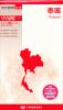 世界分国地图·亚洲-泰国地图(中外对照 防水 耐折 撕不烂地图 折叠图 亚洲地图) 2017分省交通旅游系列:安徽省交通旅游图(防水 耐折 撕不烂地图)