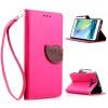 все цены на Розовый Дизайн Кожа PU откидная крышка бумажника карты держатель чехол для Samsung Galaxy A5/A5000 онлайн
