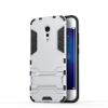 Серебряный Slim Robot Armor Kickstand Ударопрочный жесткий корпус из прочной резины для vivo Xplay6 синий slim robot armor kickstand ударопрочный жесткий корпус из прочной резины для htc desire 10