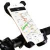 DEROACE велосипедная подставка для мобильника, подставка навигации длягорного велосипеда, электро-мотороллера, мотоцикла solarstorm велосипедный противоугонный цепной стальной замок для горного велосипеда мотоцикла электро мотороллера
