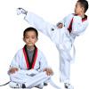 Zooboo Taekwondo одежда хлопок таэквондо костюмы взрослые дети хлопок таэквондо одежда одежда
