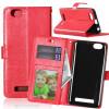 Red Style Classic Flip Cover с функцией подставки и слотом для кредитных карт для Lenovo Vibe C/A2020 мобильный телефон lenovo k920 vibe z2 pro 4g
