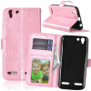 Pink Style Classic Flip Cover с функцией подставки и слотом для кредитных карт для Lenovo VIBE K5/K5 Plus/A6020 protect защитная пленка для lenovo vibe k5 plus a6020 глянцевая