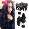 13 x 4 8A grade Brazilian Virgin human Hair Lace frontal With 2pcs unprocessed virgin loose wave black Hair Bundles Weaves 7a none full lace human hair wigs short straight glueless unprocessed virgin brazilian lace front wig black women