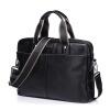 Sammons (Sammons) человек сумка портфель бизнес случайный мужской первый слой кожи сумка плеча сумку 190217-01 черный