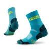 Sai Le Zealwood весна и лето на открытом воздухе пешеходные носки быстрая сухая влажность потоотделение функция носки кокосовое волокно волокно активная серия спортивные носки синий 1691S код пара