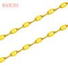 Г-жа Мяо выбрать ювелирные изделия позолоченные цепи Человек Тяньсина