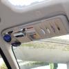 Китай украшения автомобиля солнцезащитный козырек клип CD устанавливает многофункциональные сумки для хранения клип CD диск CD диск пакет автомобиля CD папка сумка документ солнцезащитный козырек черный