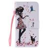 Дизайн для девочек и кошек Кожа PU Кожаный флип-чехол Кожаный чехол для LG K10 флип кейс euro line vivid для lg k10