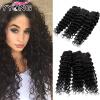 8A Brazillian Deep Wave Huamn Hair 3 шт. Продукты YYONG Hair Company Бразильские волосы для волос для волос Бесплатная доставка бесплатная доставка diy интегральных схем dg2019dn t1 e4 ic двойного переключателя spdt 16qfn 2019 dg2019 3 шт