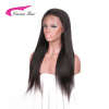 Carina Hair Brazilian Human Hair 130% Density Light Yaki Lace Front Wigs for Black Women with Baby Hair Pre-Plucked Hairline