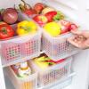 [Супермаркет] Haixin Jingdong Haixing кухни холодильник корзины для хранения овощей и фруктов овощей корзины пластиковых корзин для хранения ящика открытых корзин корзины хранения два костюмов