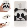 Обложка Panda шаблон Мягкий тонкий ТПУ резиновый силиконовый гель чехол для ZTE Blade V7 Lite skinbox флип кейс zte blade x5