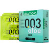 Окамото Презервативы Мужские ультратонкие презервативы 003 Алоэ Вера 3-х частей для взрослых продуктов импортная продукция Окамото окамото презервативы skin 10 шт 3 кор