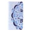 Blue Flower Design Кожа PU откидной крышки Кошелек Карты Держатель чехол для SAMSUNG A310 A32016 blue feather design кожа pu откидной крышки кошелек карты держатель чехол для samsung a310 a32016