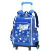 Carany (Carany) ученик начальной школы drawbars bag 1 - 3 - 6 рюкзак бейсбола шестиколесный плечевой мешок CX8460 Po Blue Star 20222426 drawbars