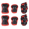 MyMei Children Kids Wrist Elbow Knee Protective Pad Protectors Skating Sports Gear Set lanova 7pcs set protective gear knee elbow pads wrist protector protection skate helmet for scooter cycling roller skate 4 size
